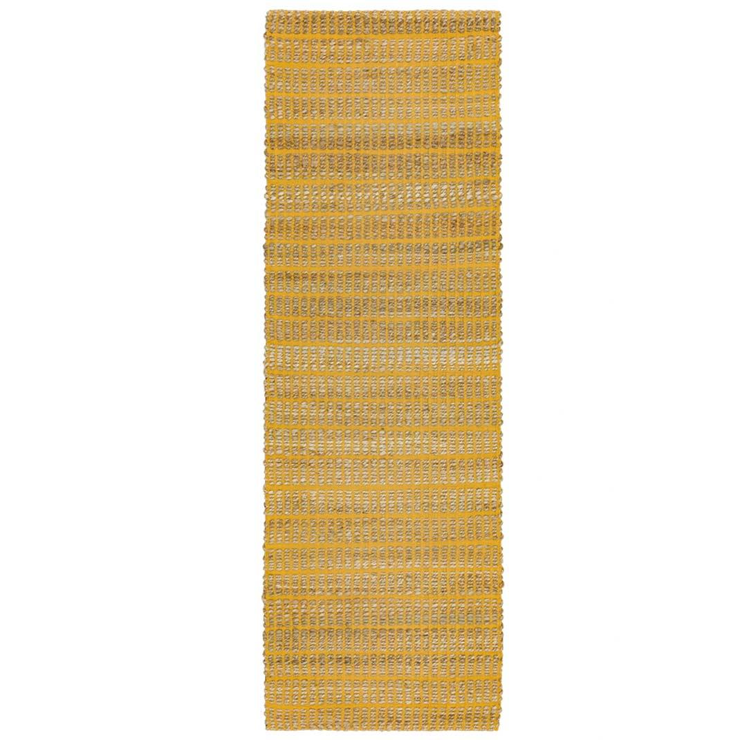 Tulsa runner rug - Mustard