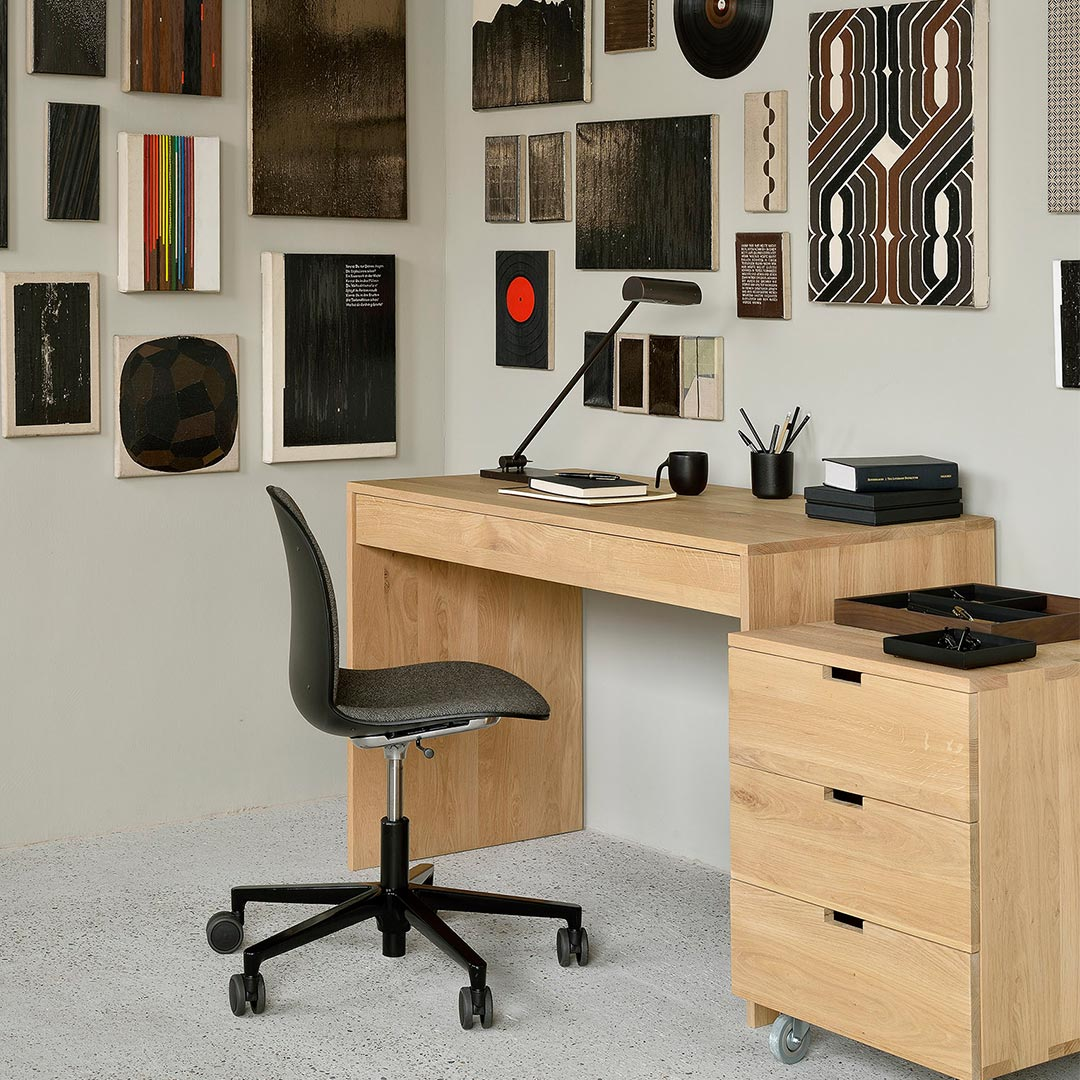 Ethnicraft Oak Wave desk