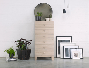 Tall and Narrow chest of drawers