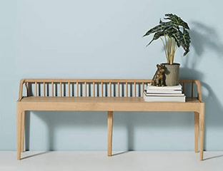 Oak Dining Benches