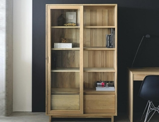 Oak Storage Cupboards