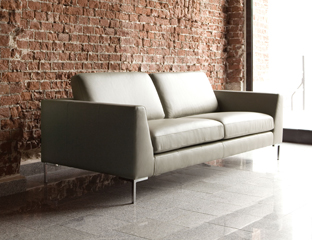 Fabric & leather sofas