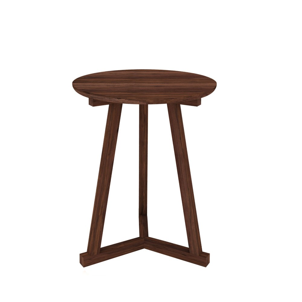 Delicieux Product, Price, Availability, Quantity. Ethnicraft Walnut Tripod Side Table  ...