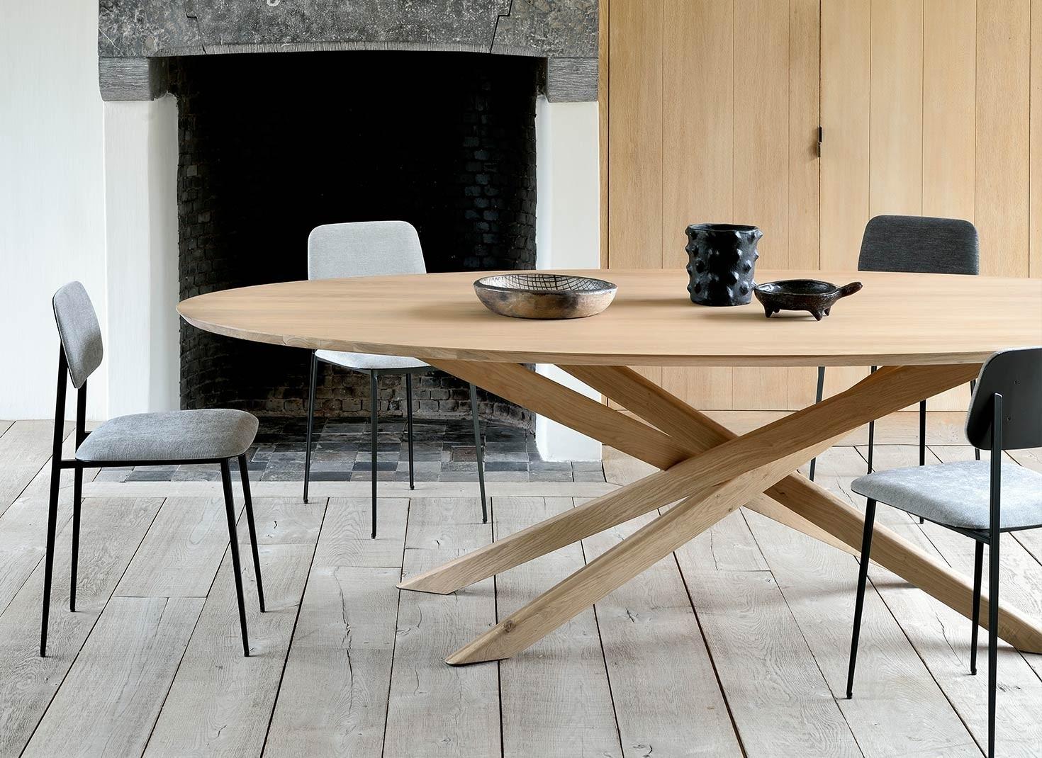 Ethnicraft Oak Mikado Dining Table Adventures In Furniture