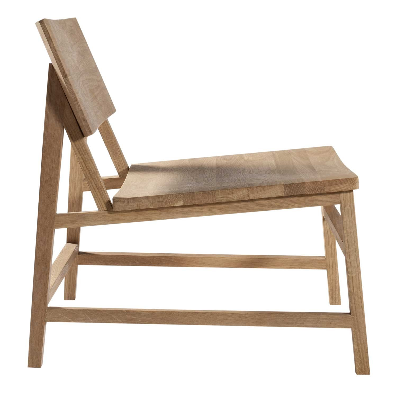 Oak Bedroom Chair Ethnicraft Oak N2 Lounge Chair Without Amrest