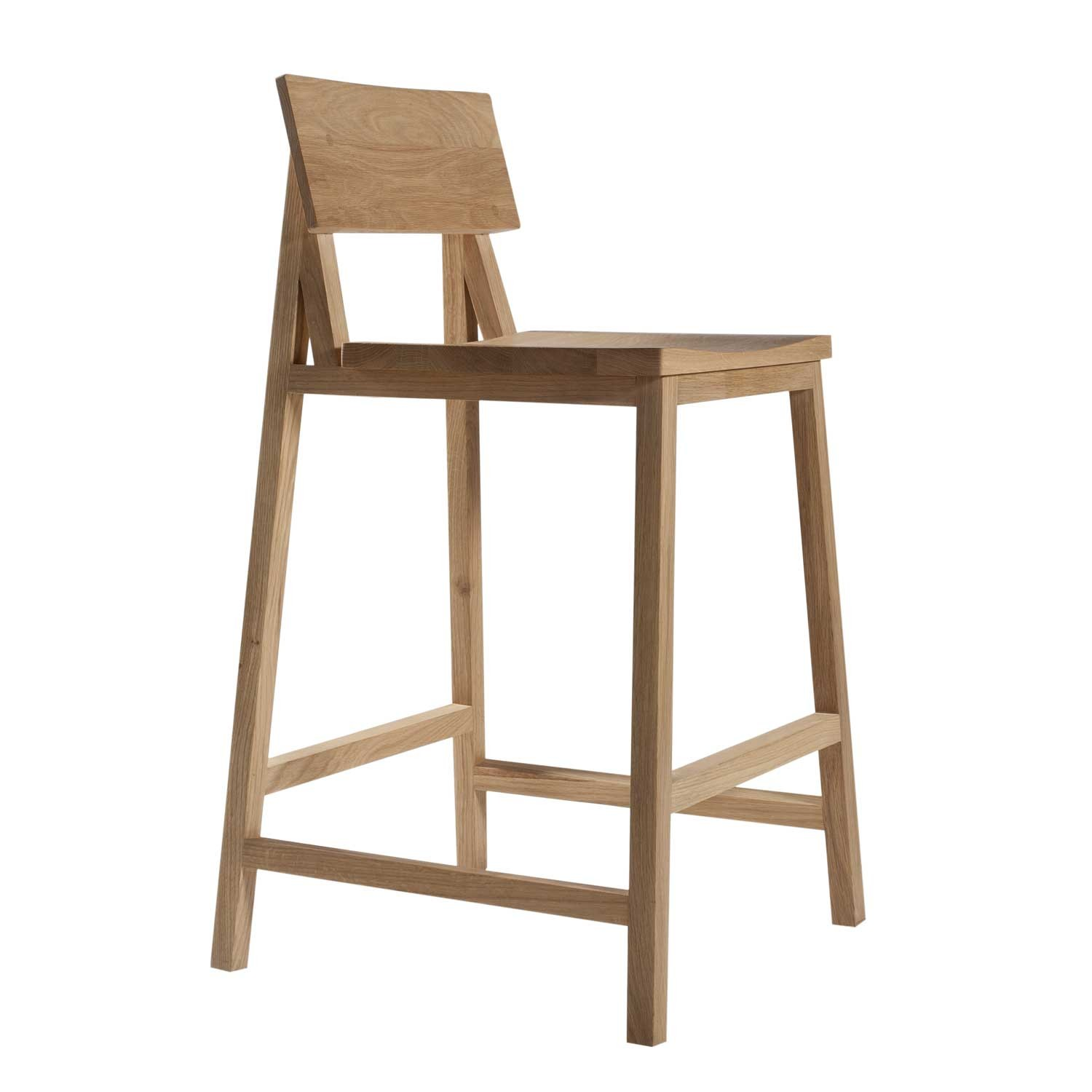 tall counter chairs. Ethnicraft Oak N3 Kitchen Counter Stool Tall Chairs