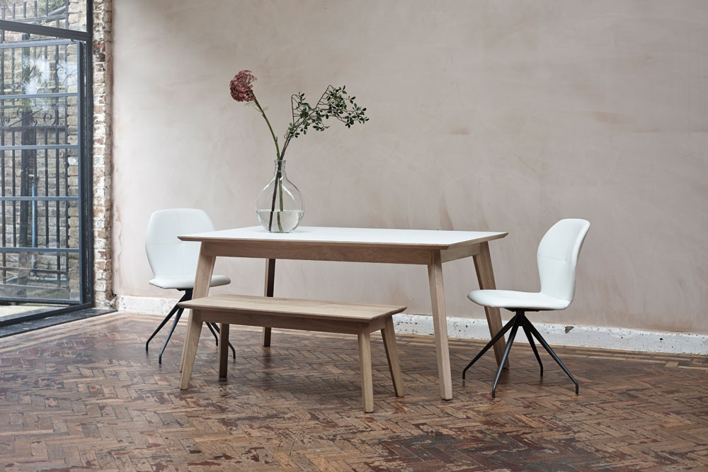 Bianco iii extending dining table adventures in furniture for Dining room tables london