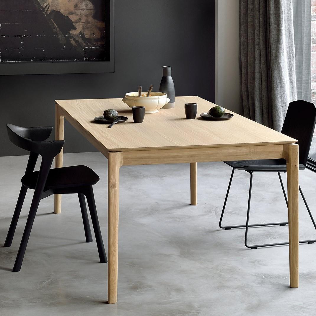 ethnicraft bok oak dining table
