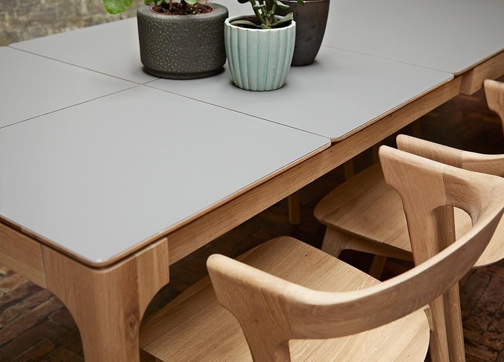 Zurich Fenix Oak Extending Dining Table Adventures In