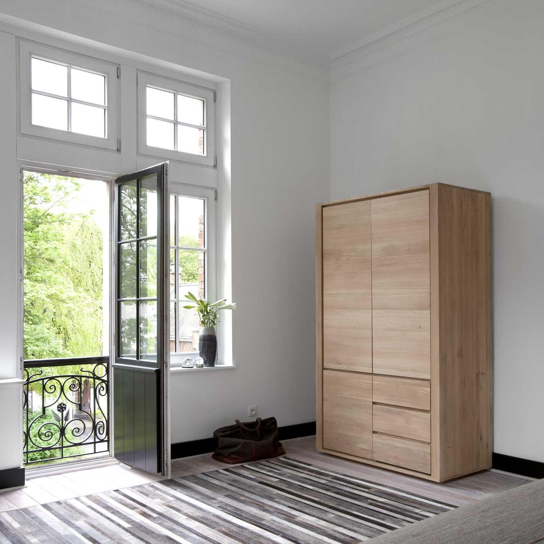 Ethnicraft Oak Shadow Dresser 3 Doors 2 Drawers