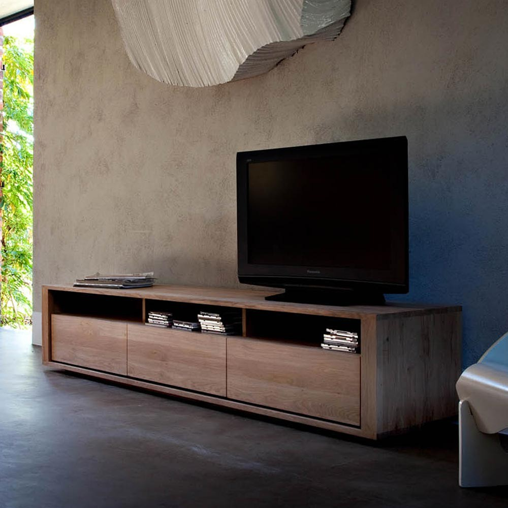Ethnicraft Shadow Oak TV Unit