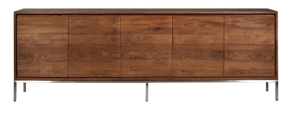 Ethnicraft essential teak sideboard solid wood furniture for Sideboard 260 cm