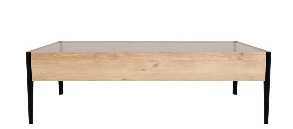 Ethnicraft oak window coffee table 120 x 60cm coffee for 120 x 60 window