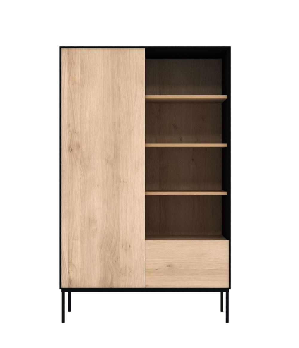 New Northern Europe Small Coffee Table Size Combination Of: Ethnicraft Oak Blackbird Storage Cupboard ‐ 1 Door / 1 Drawer