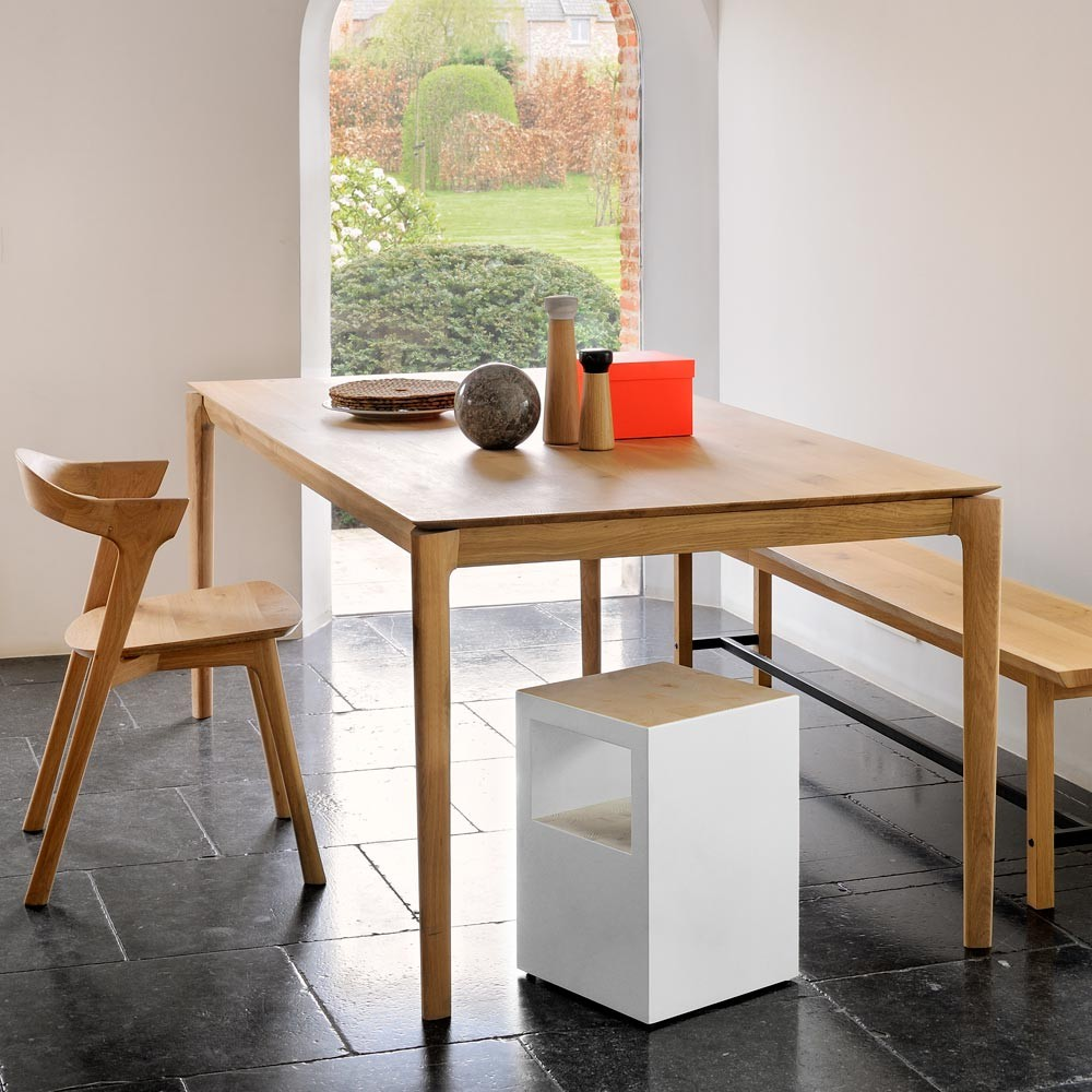 ethnicraft oak bok dining tables