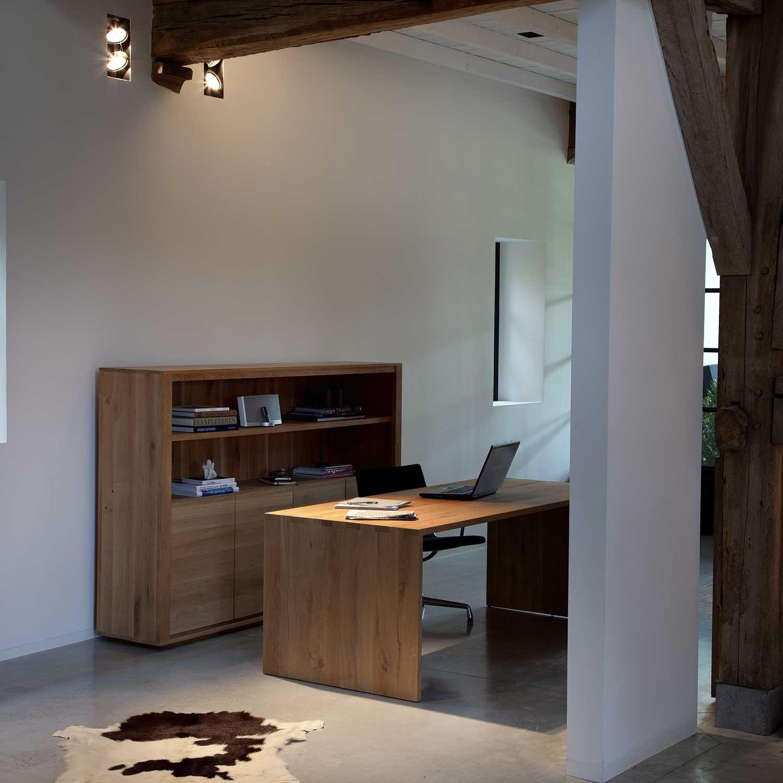 Ethnicraft U Desk Oak Solid Wood Furniture