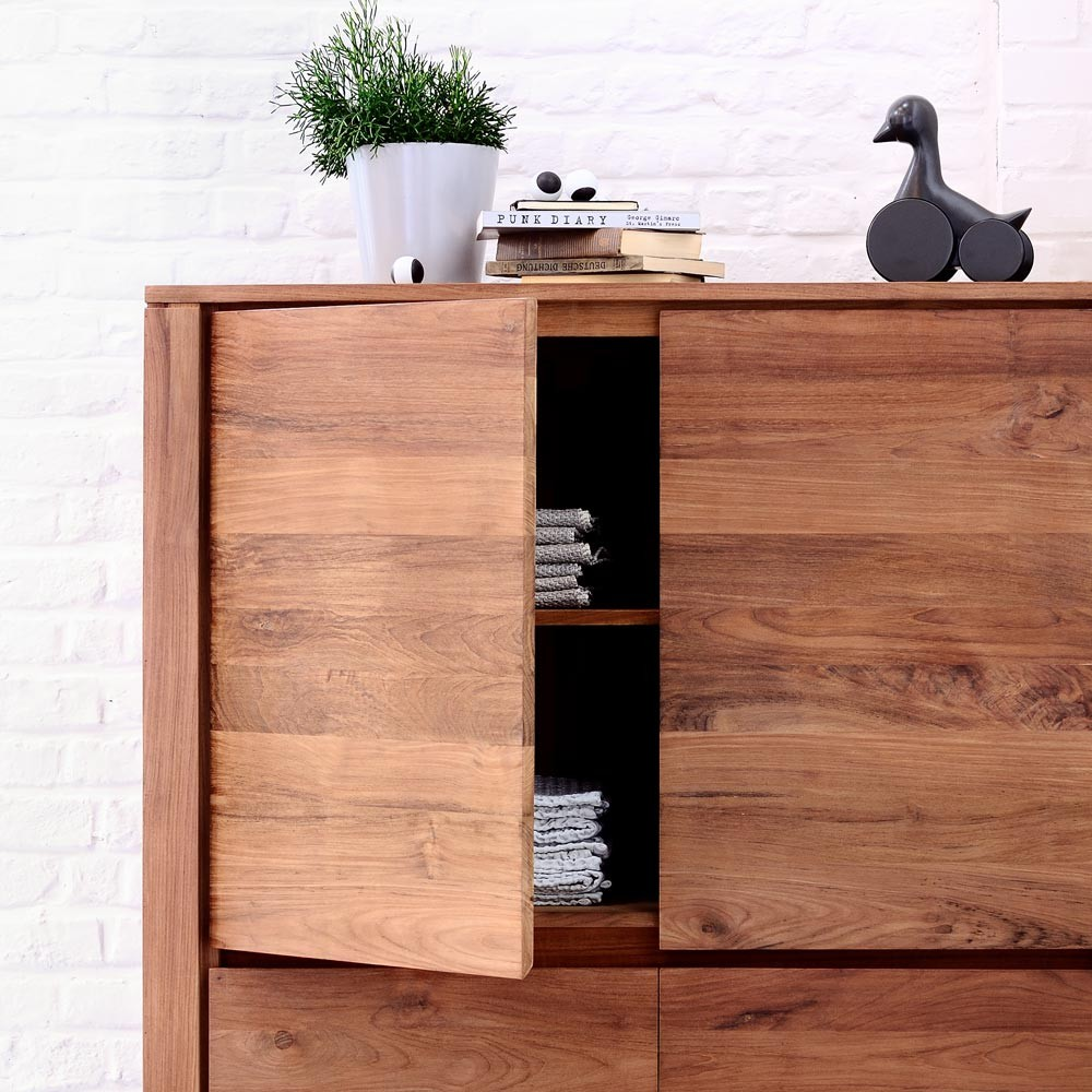 Ethnicraft Teak Elemental storage cupboard