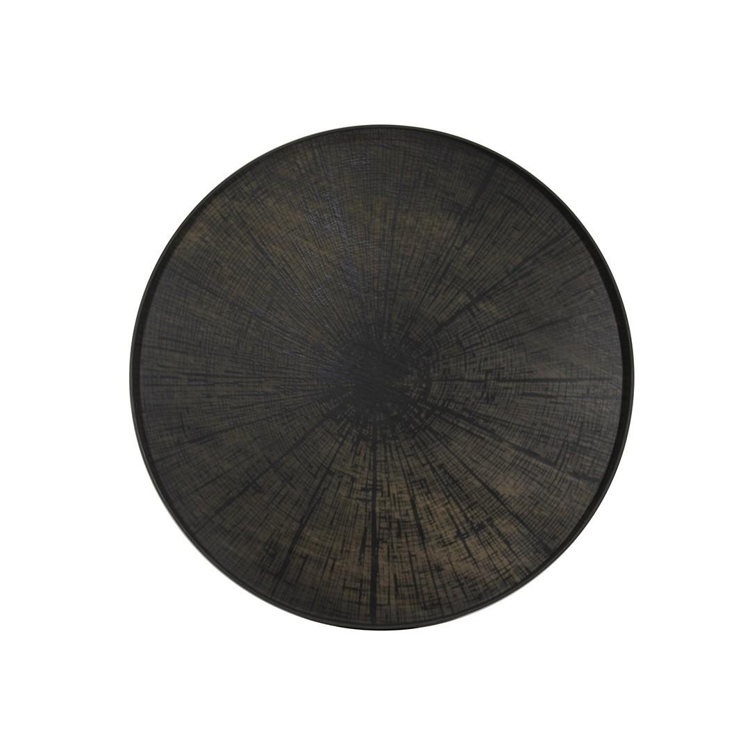 Notre Monde Black Slice - Driftwood Round Tray - XL 92cm