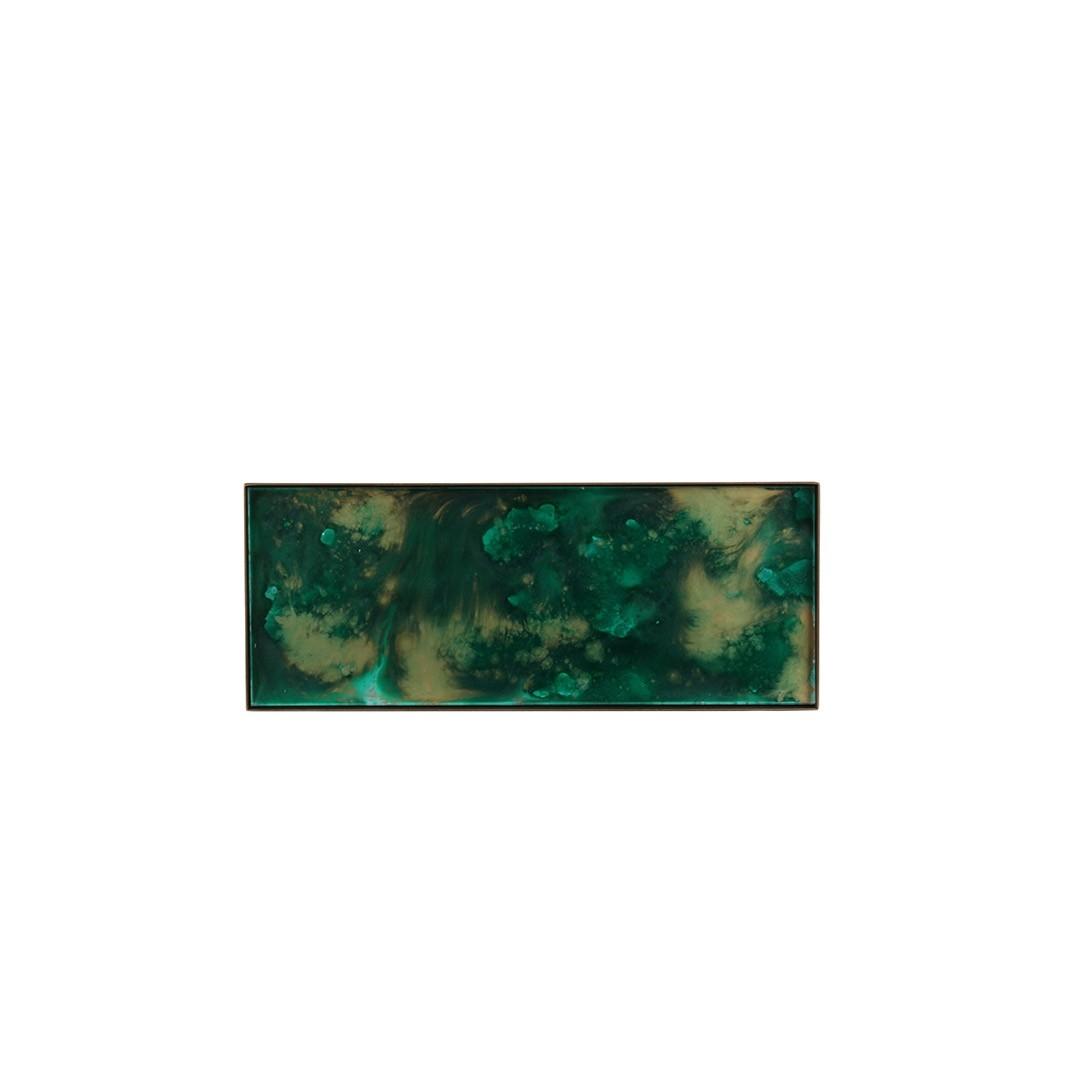 Notre Monde Malachite Organic Mini Tray - Large