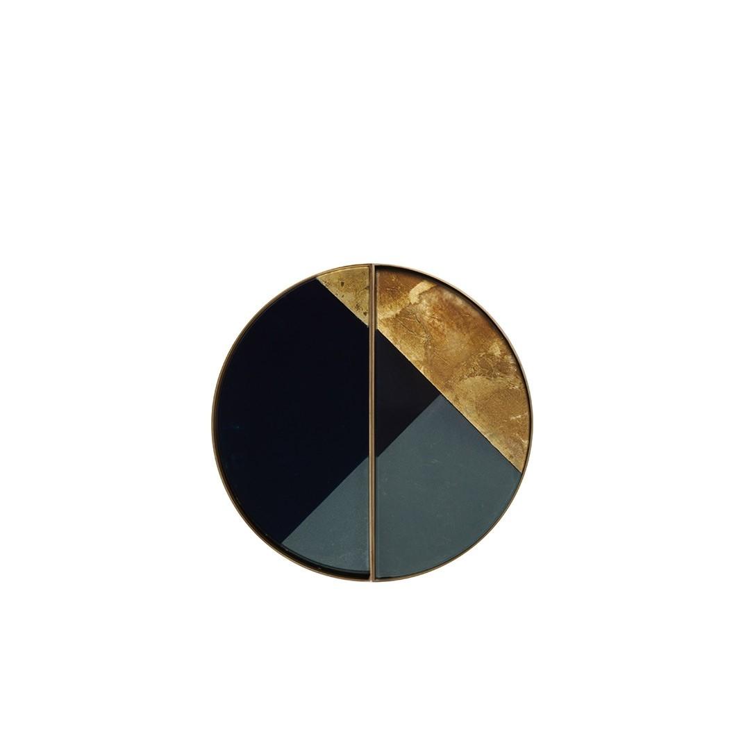 Notre Monde Geometric Half-Moon - Mini Tray - Set of 2