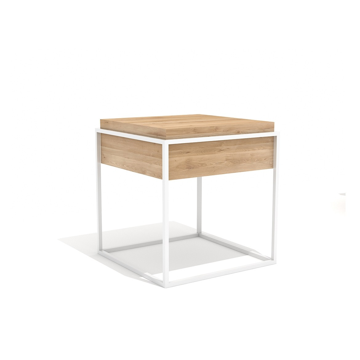 Ethnicraft Oak Monolit Side Tables M