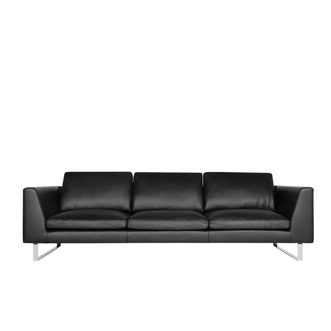 Tribeca 3,5 seater leather sofa