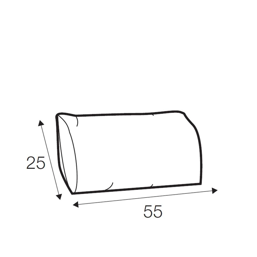 Austin lumbar cushion 55cm