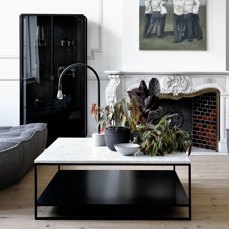 Ethnicraft Stone coffee table – 110cm