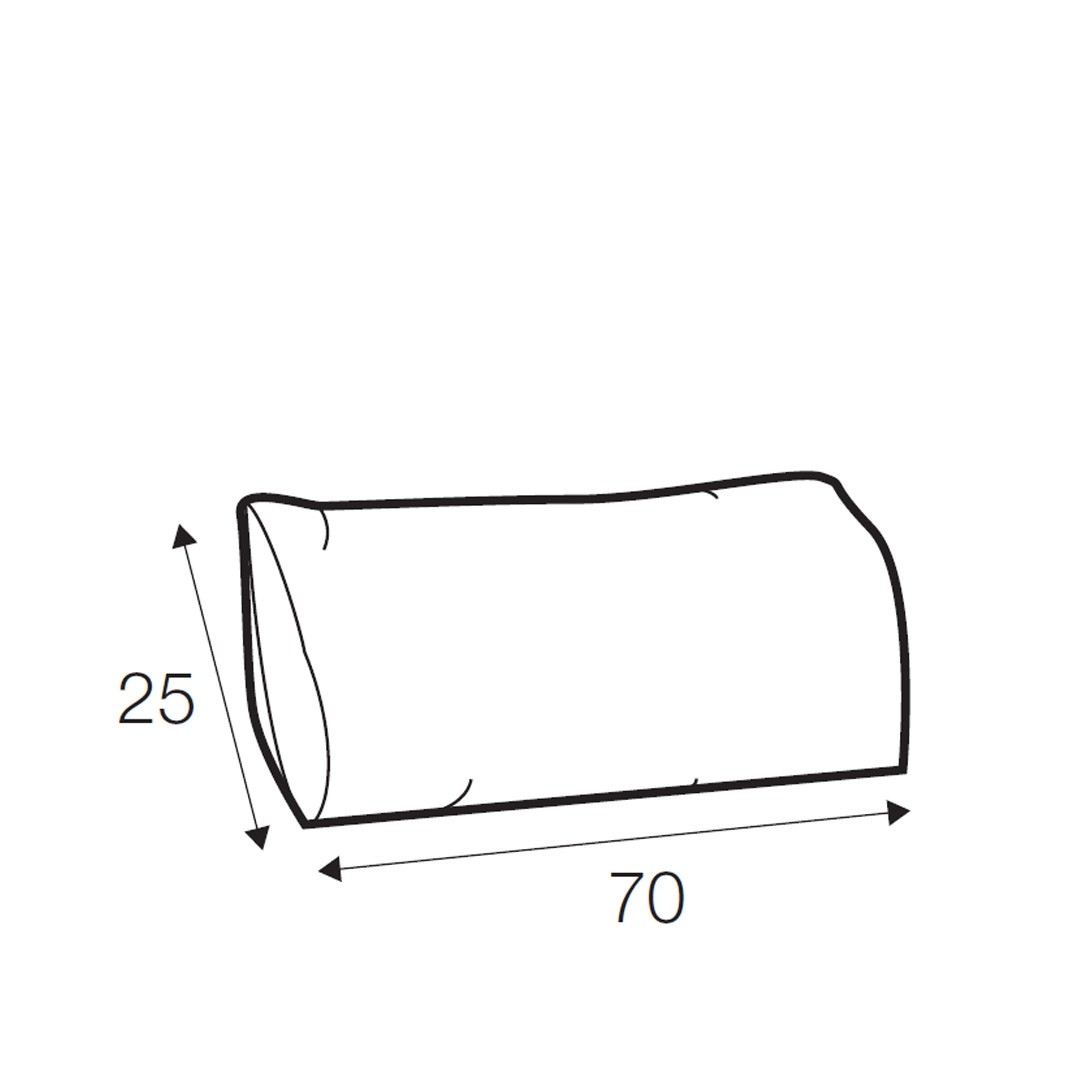 Austin lumbar cushion 70cm