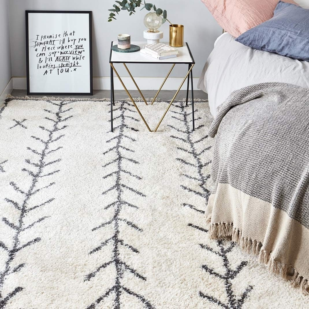 Berber Rug Arrow - Cream