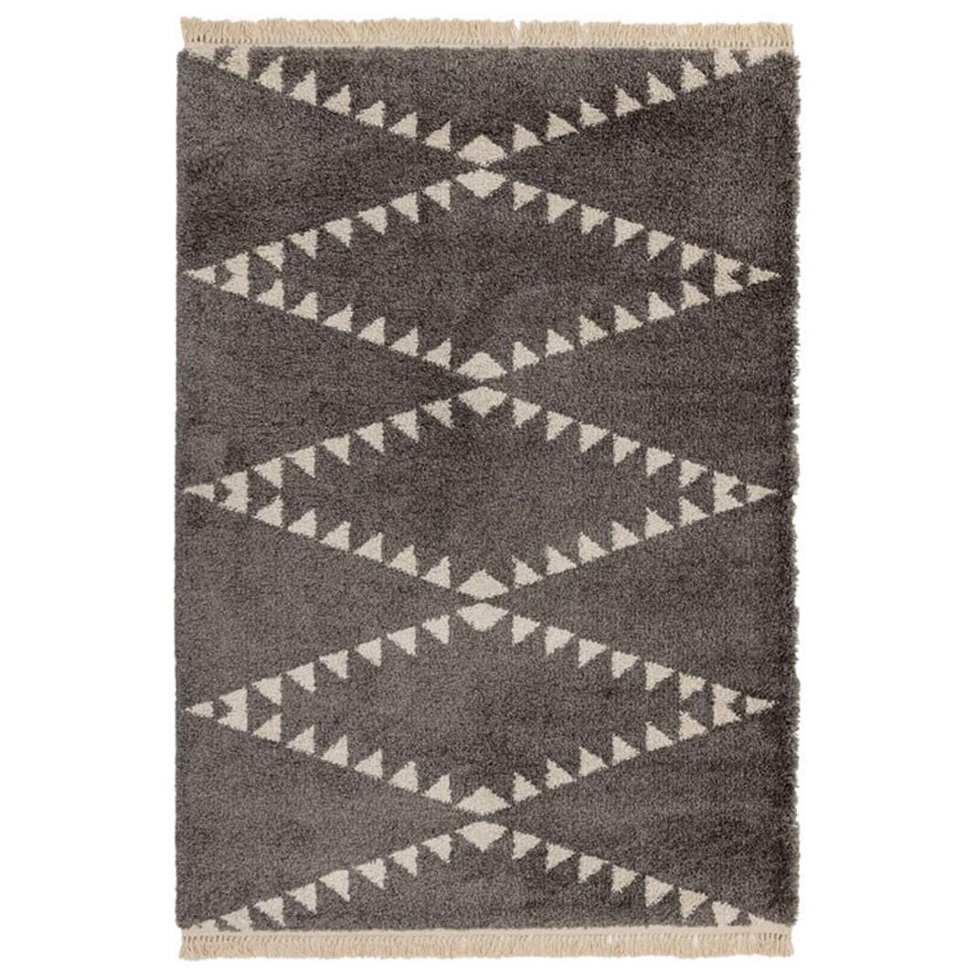 Berber Rug Tribal - Charcoal