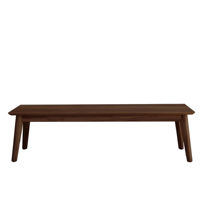 Bianco walnut bench