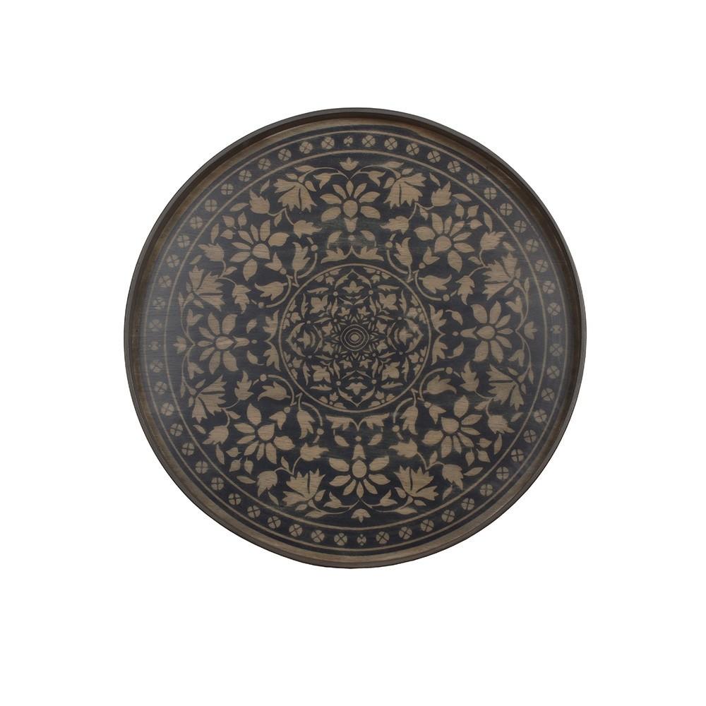 Notre Monde Black Marrakech - Round/Large - 61cm