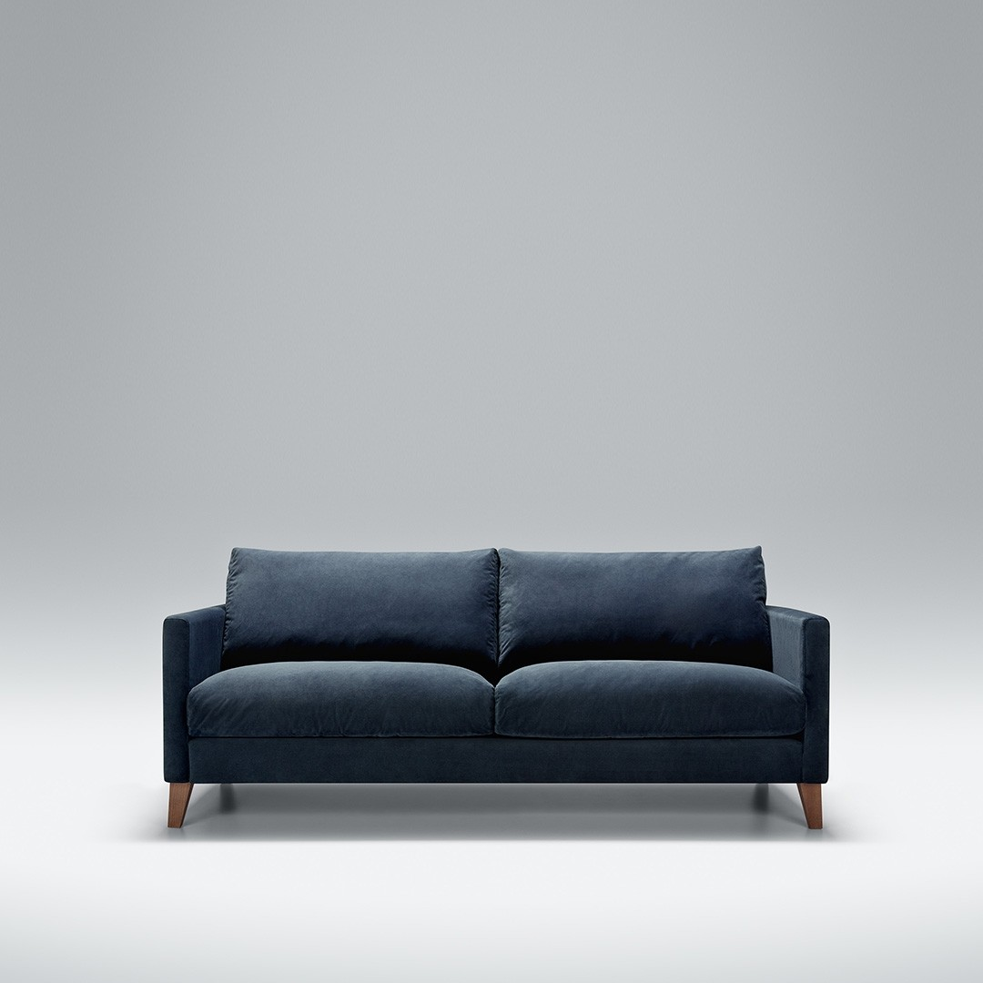 Express - Blade 2.5 seater sofa | Aquaclean Bellis Dark Blue
