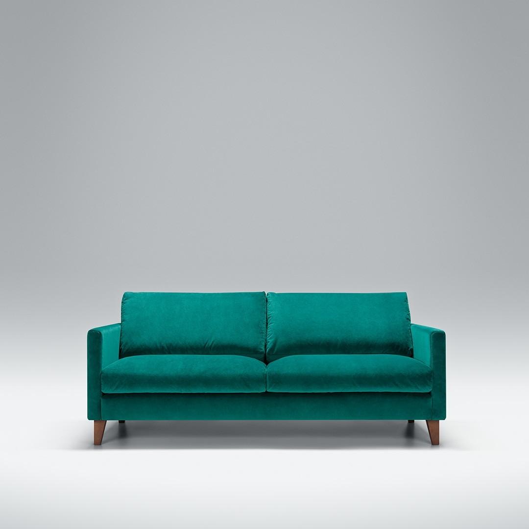 Express - Blade 2.5 seater sofa | Aquaclean Bellis Turquoise
