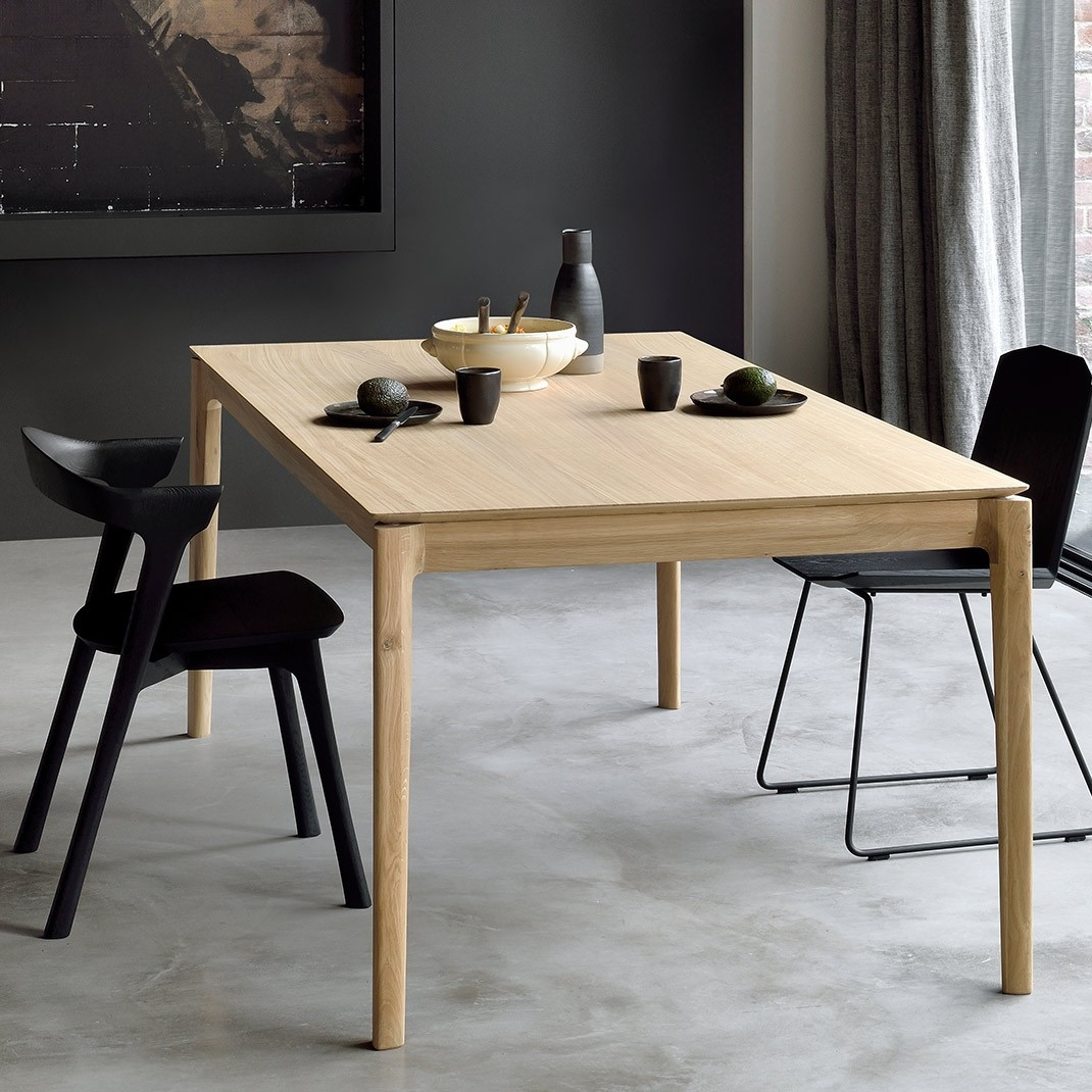 Ethnicraft Bok oak dining table