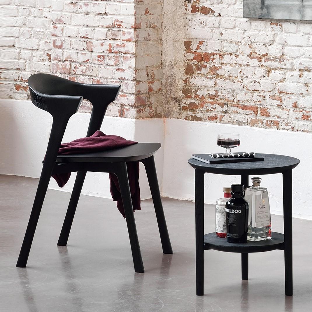 Ethnicraft Oak Bok chair - Blackstone