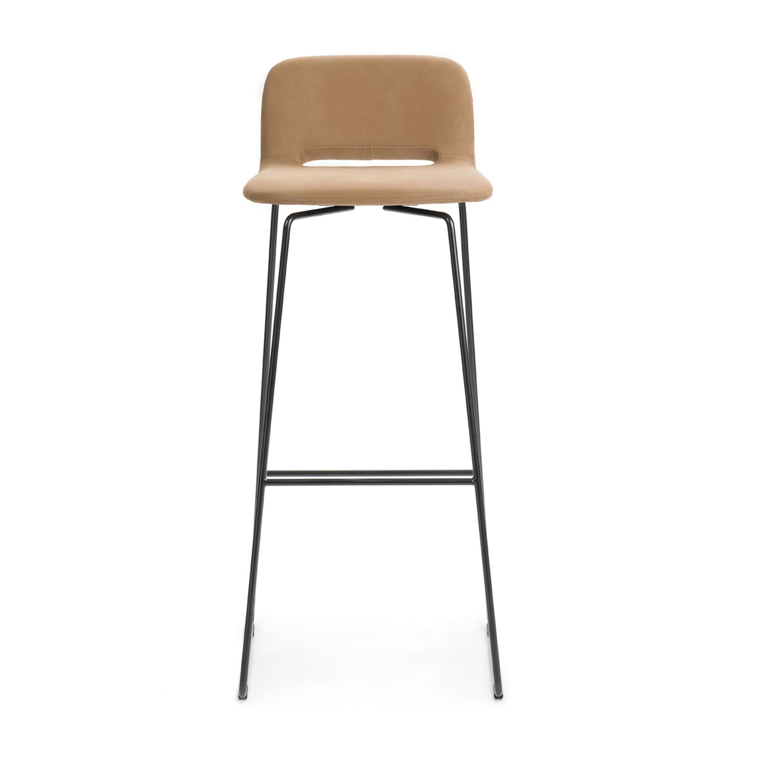 Clapton bar stool H82 - metal frame