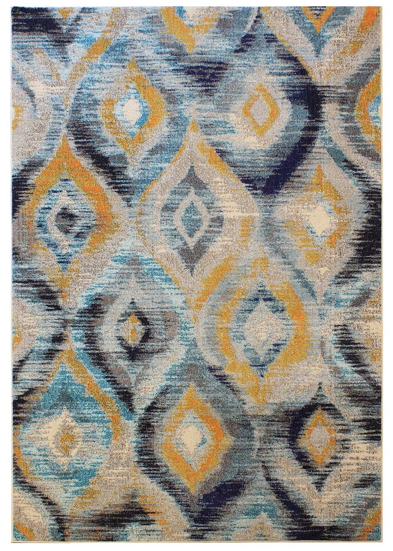 Cologne rug blue