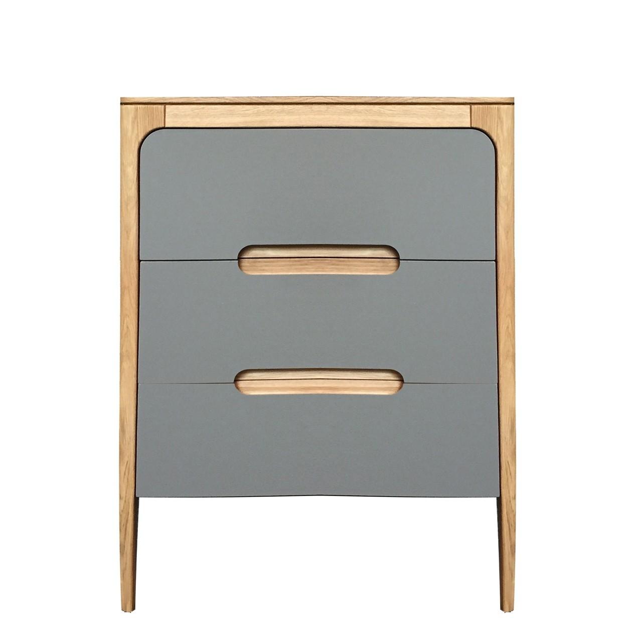 Como 3 drawer bedside