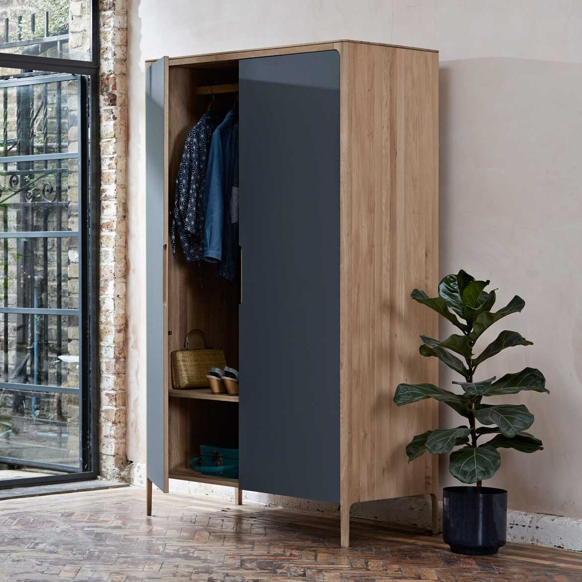 Como narrow wardrobe - 2 doors