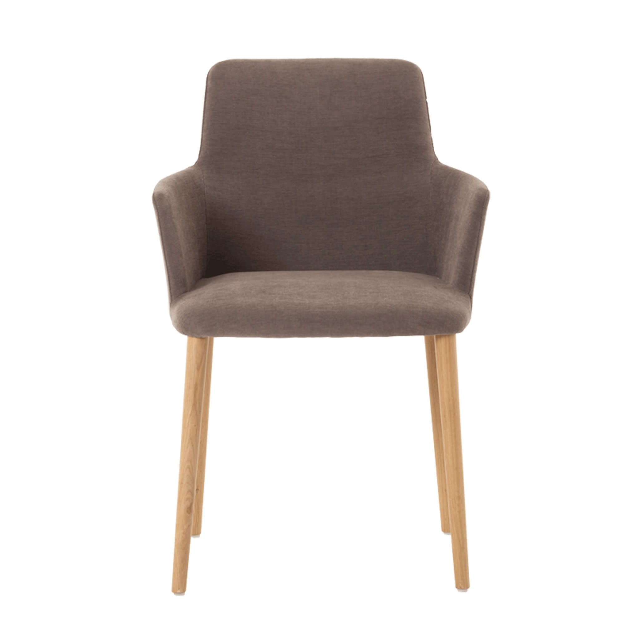 Cos chair with armrest - wood legs