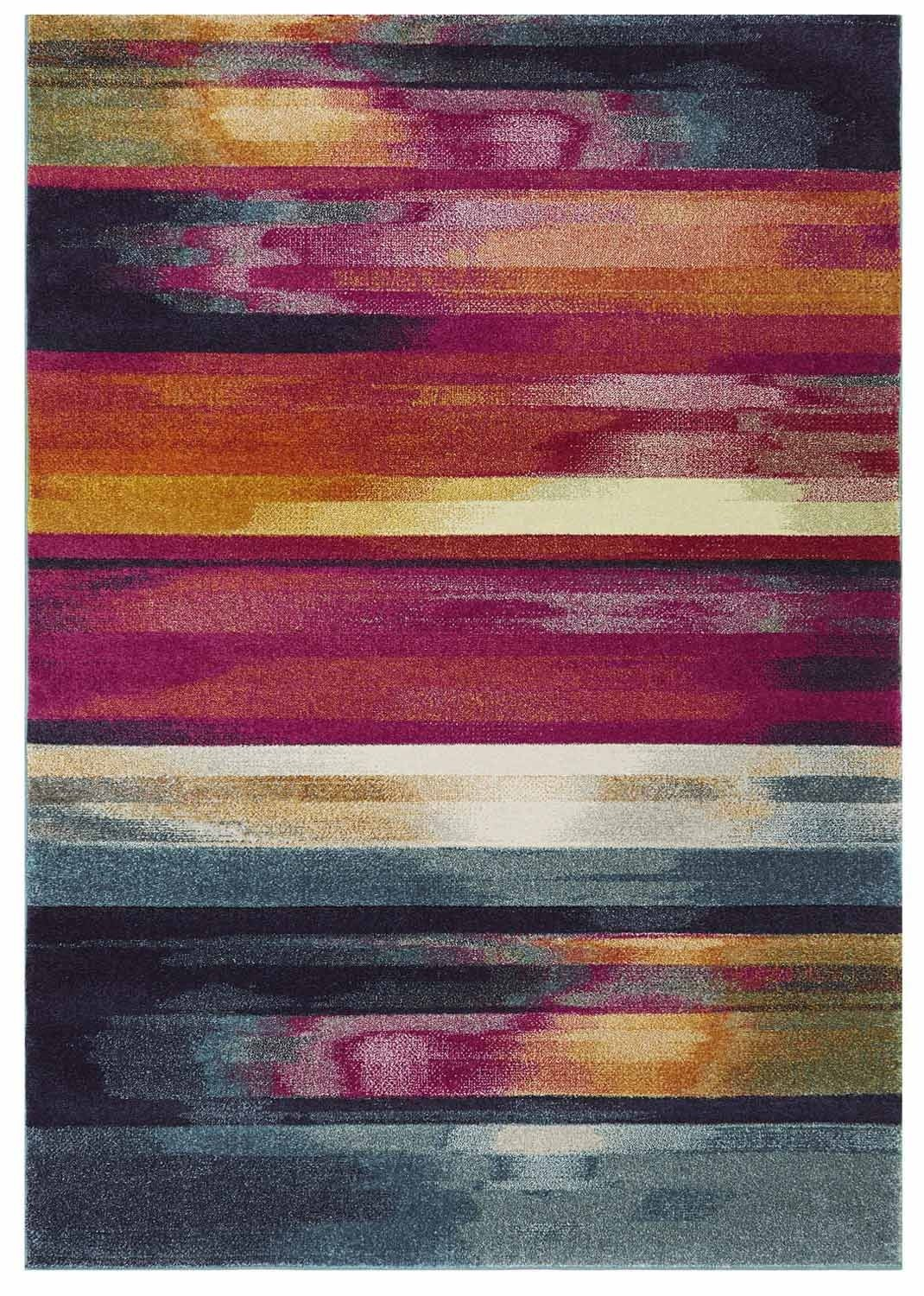 Distress rug - multi