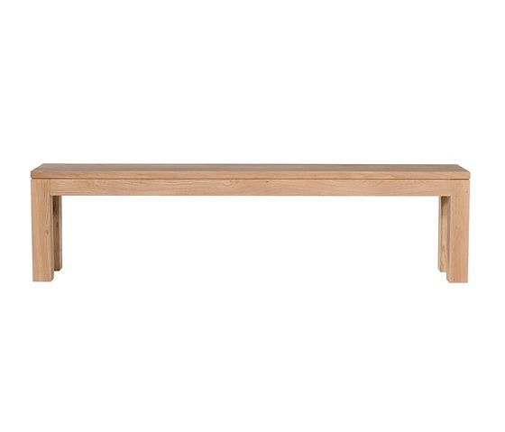 Ethnicraft Oak Straight bench 200cm