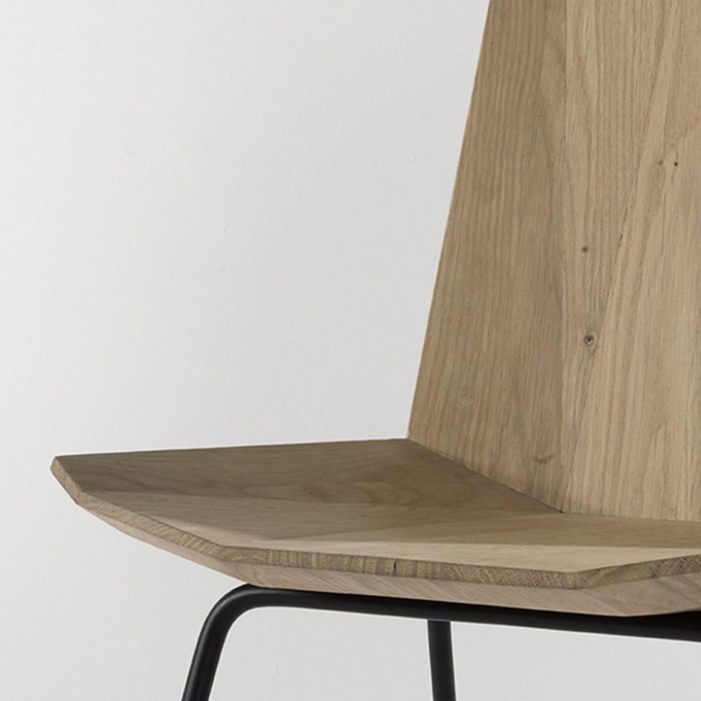 Ethnicraft Oak Facette chair
