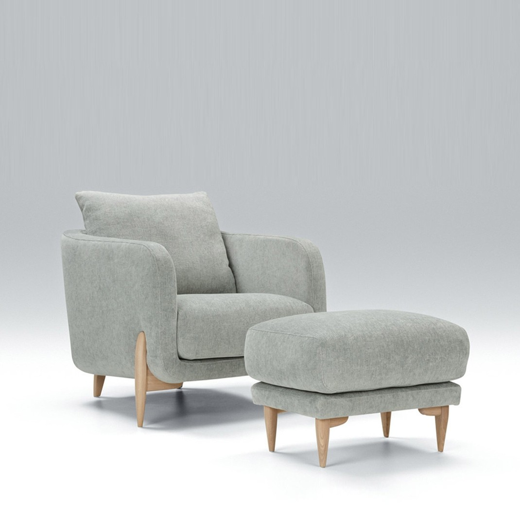 Gem armchair wide