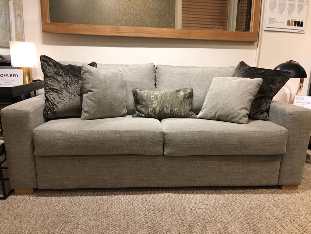 CHISWICK showroom  - Ex-display Luk sofa bed 3 seat | Caleido stampato Olive | Amrest 2  | SKU211013