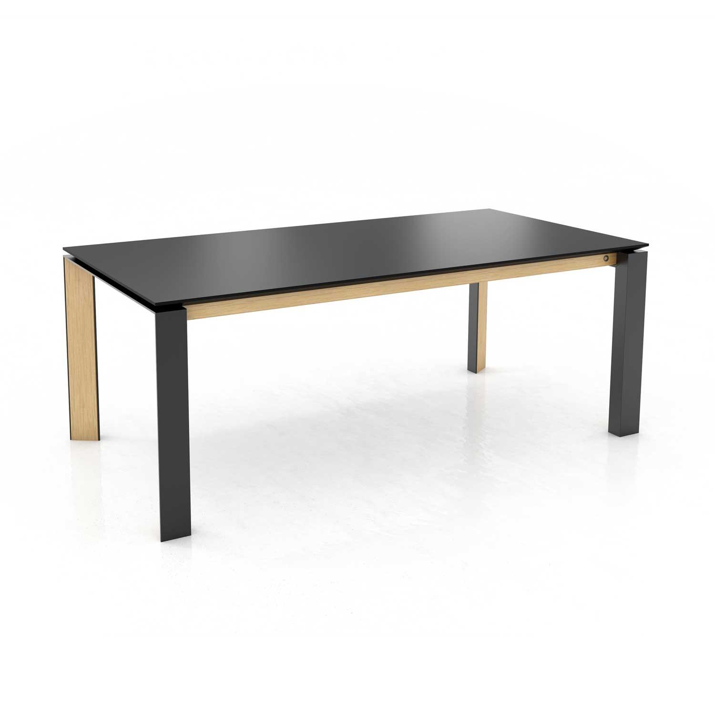 Mason metal leg PB3 Fenix + walnut dining table