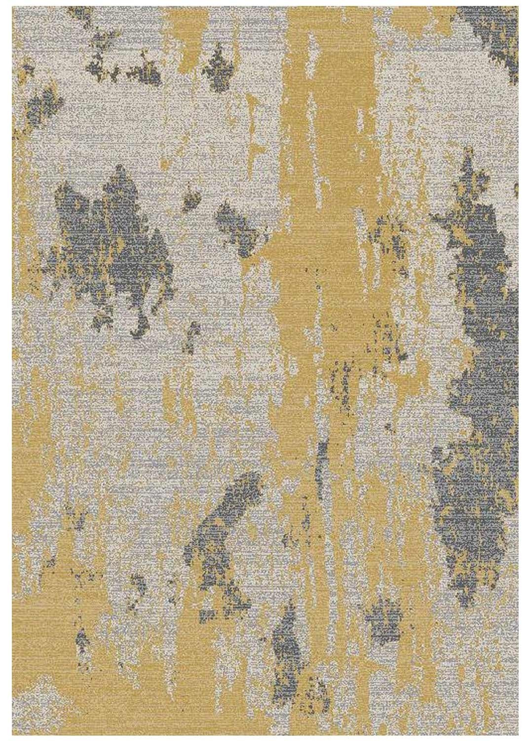 Ambient rug - Painterly yellow