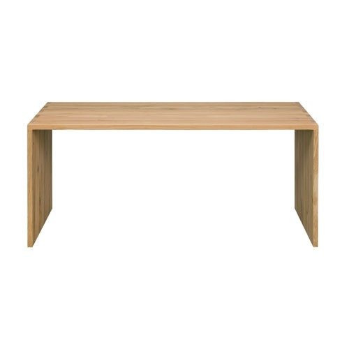 Ethnicraft Oak office U table - 140 cm